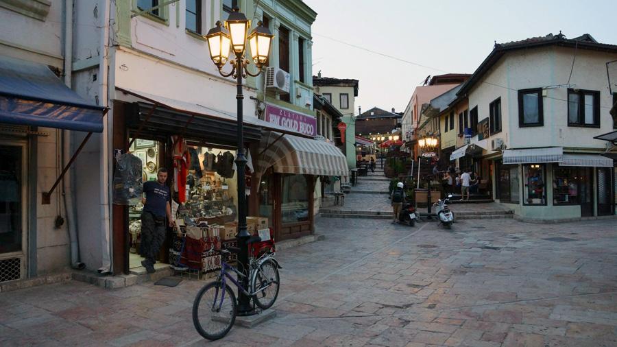 Skopja city
