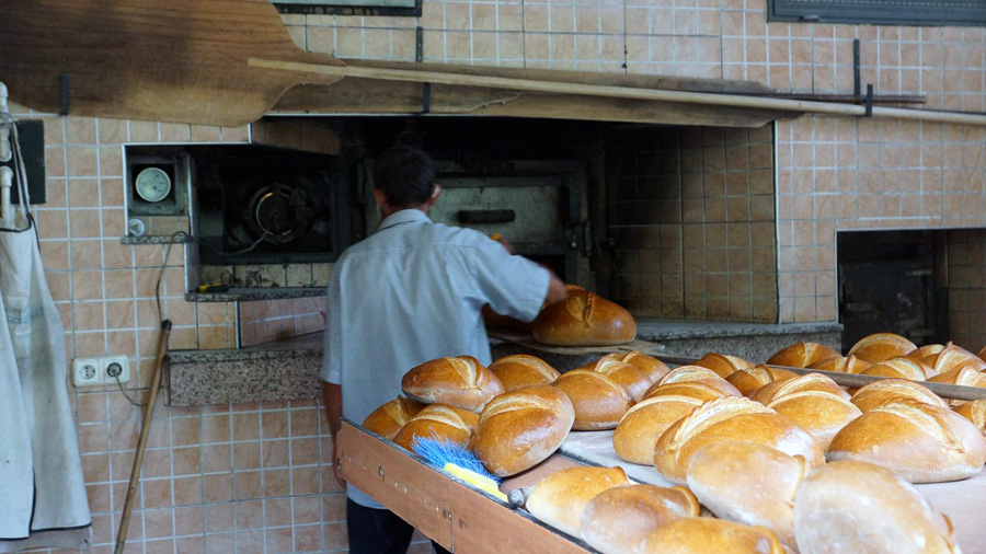 In bakery Turkey