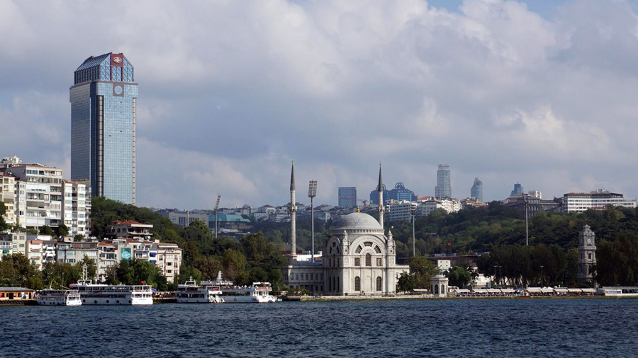 Istanbul from ferry