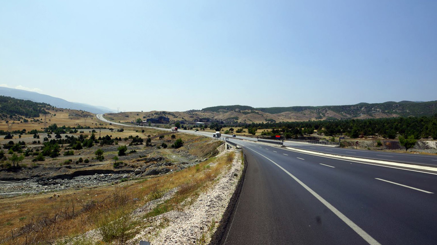 Great roads in Turkey