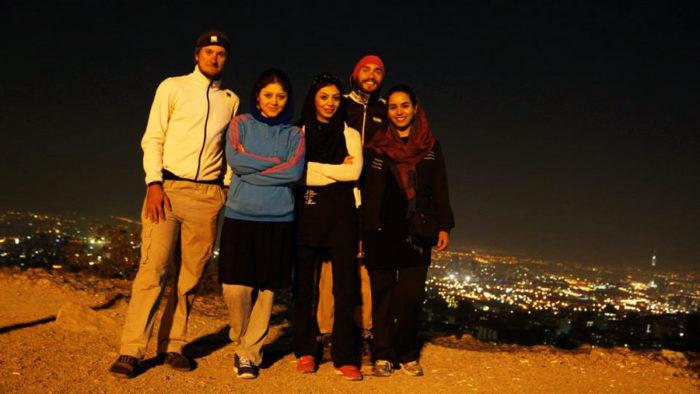 Iranian girls and us