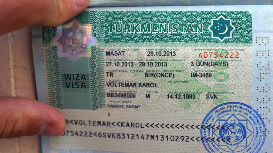 Turkmenistan Visa Mashad