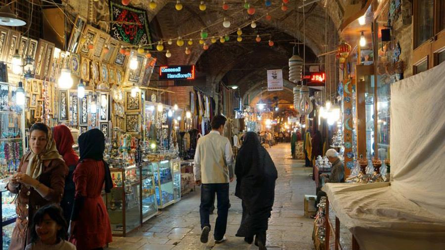 Bazar in Isfahan