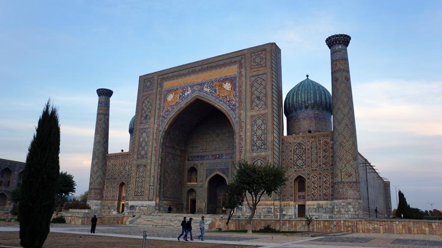 Mosque in Samarkand