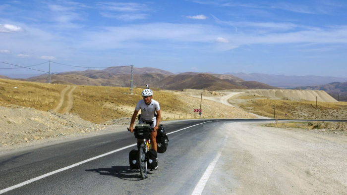 Cycling mountains Turkey