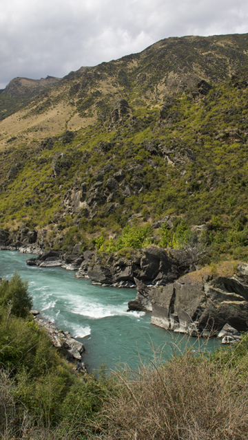Canyon in New Zealand
