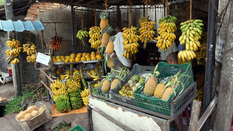 Fruits and vegetables Sri Lanka