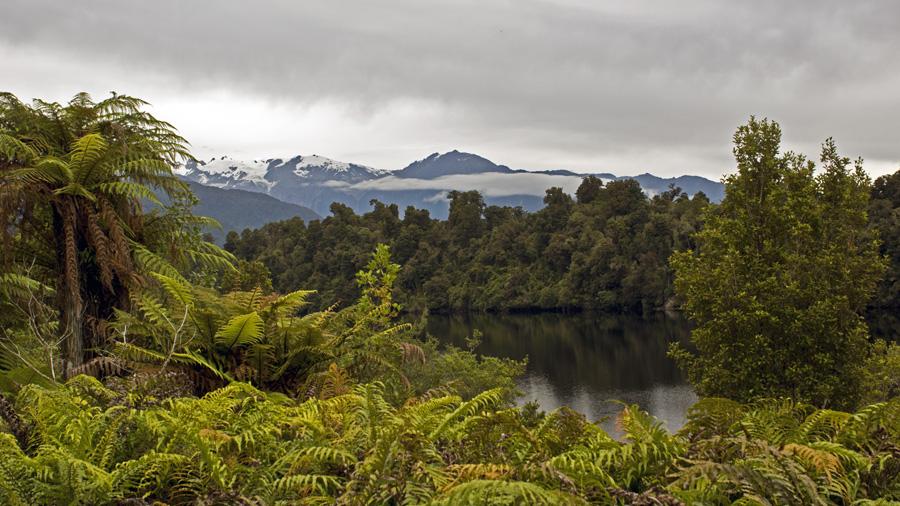 Glaciers in New Zealand