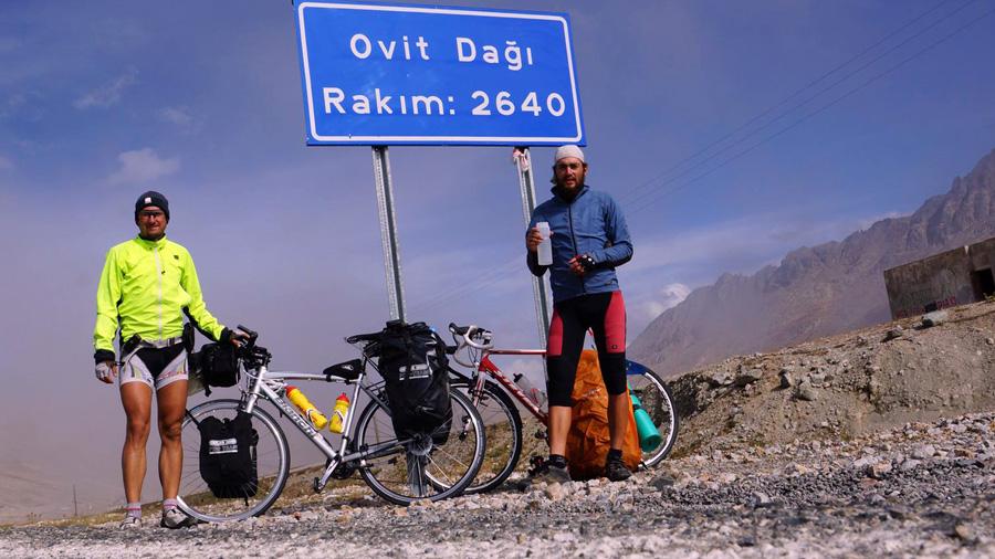 Our highest mountain pass Turkey