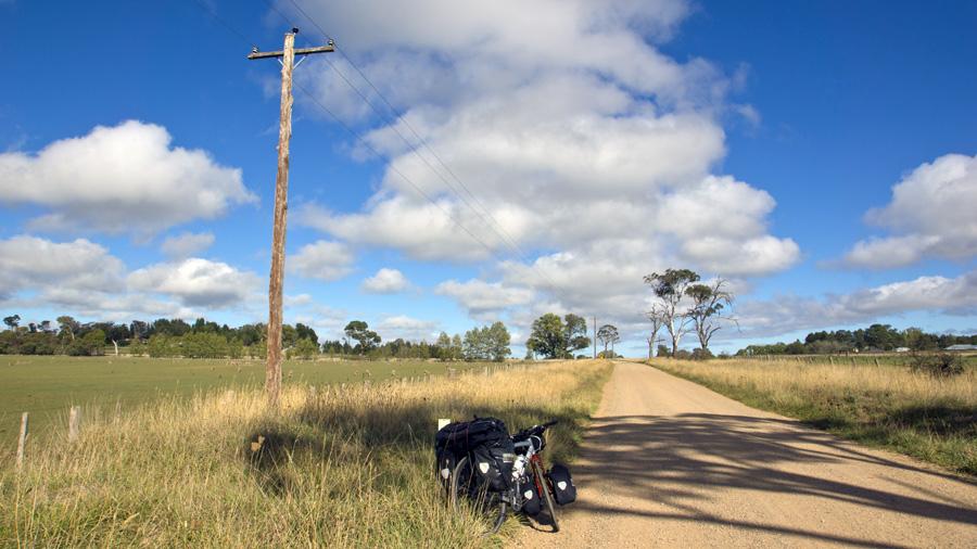 Ride in outbacks Australia