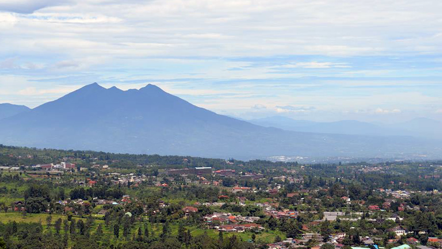 Bogor volcano