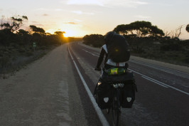 Nullarbor Plains by bike