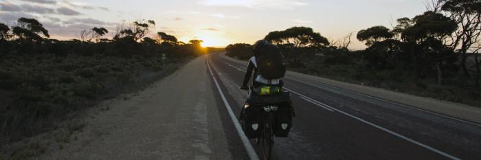 Nullarbor Plains by bike