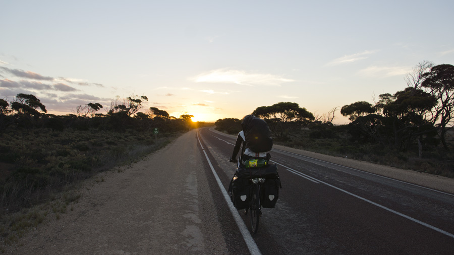 Cycling Across Australia